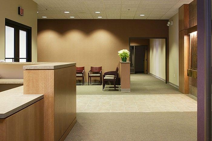 Office Lobby Painted In Ann Arbor MI