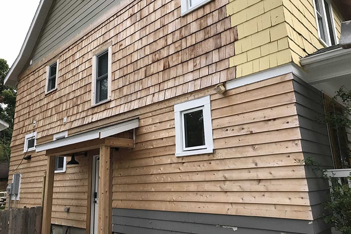 Wood Siding Replaced In Plymouth MI