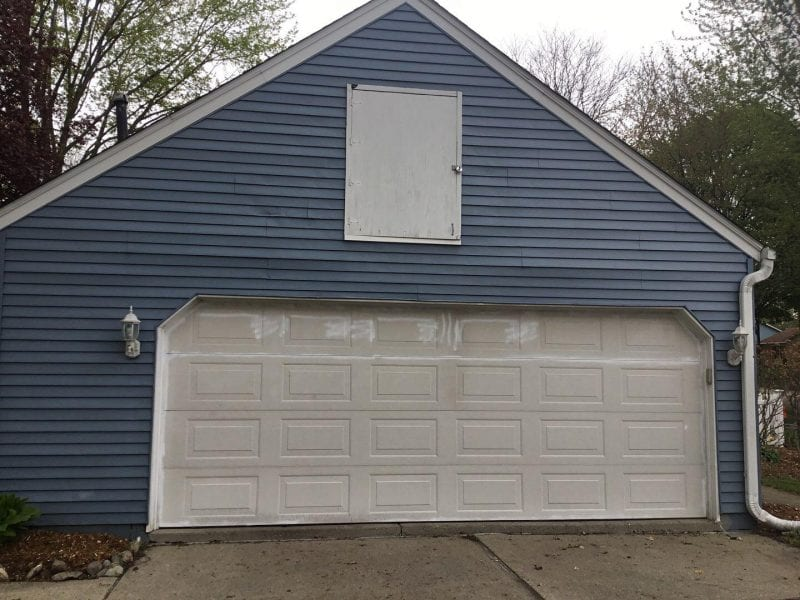 Before Garage Painting Service In Canton MI