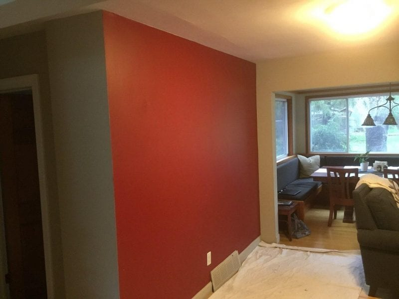 Interior Painting Project In Canton MI - Before