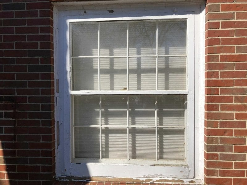 Window Trim Painting Service in Canton MI - Before