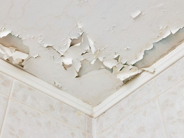 How to fix peeling paint on ceiling