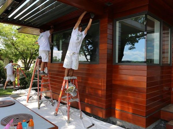 Maintaining wood exterior siding in Pinckney Michigan