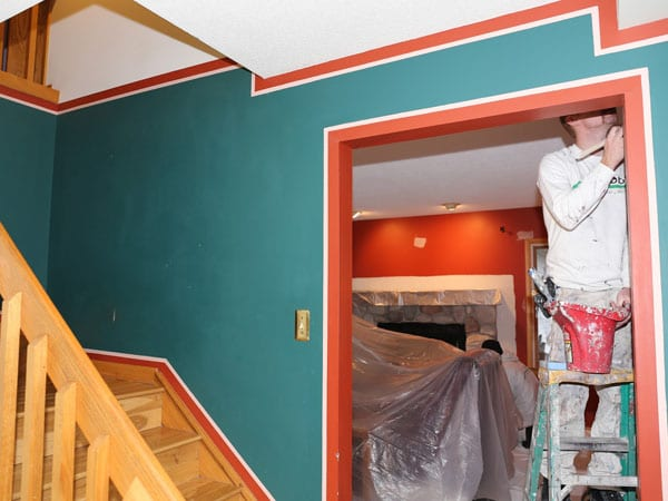 Repainting walls and more in the Scio Township area of Ann Arbor