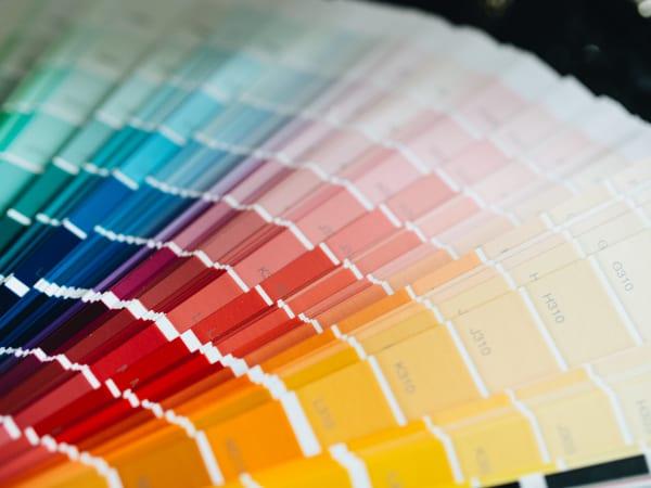 How to choose a paint color comes with paint fan decks