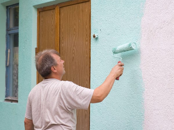 One man painter