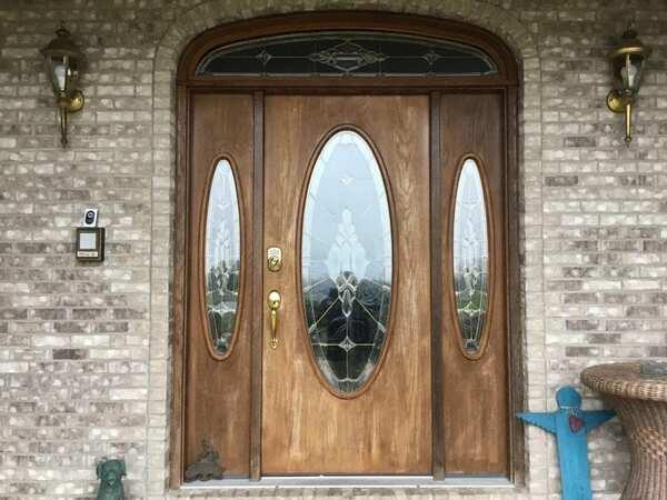 Door before staining