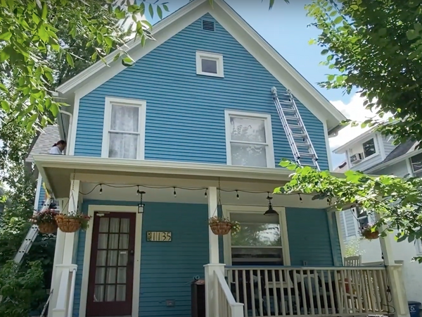 Newly painted historic home in Ann Arbor